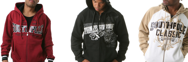 south pole hoodies