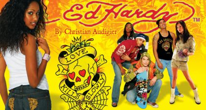 Ed Hardy Clothing by Christian Audigier