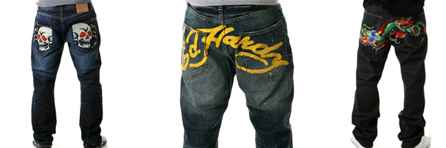 Ed Hardy Jeans by Christian Audigier