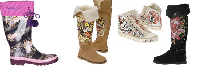 Ed Hardy Boots for Women